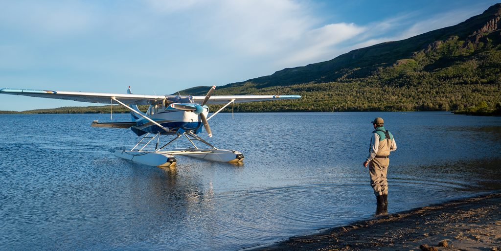 Katmai Air Cessna 206 at Kulik Lodge