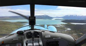 Katmai Air Beaver Flight to Brooks by Kara Stenberg