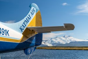 Katmai Air Float Plane and Mountains by Fly Out Travel