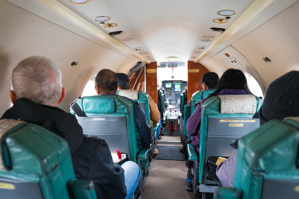 Katmai Air Pilatus Interior by Greg Houska