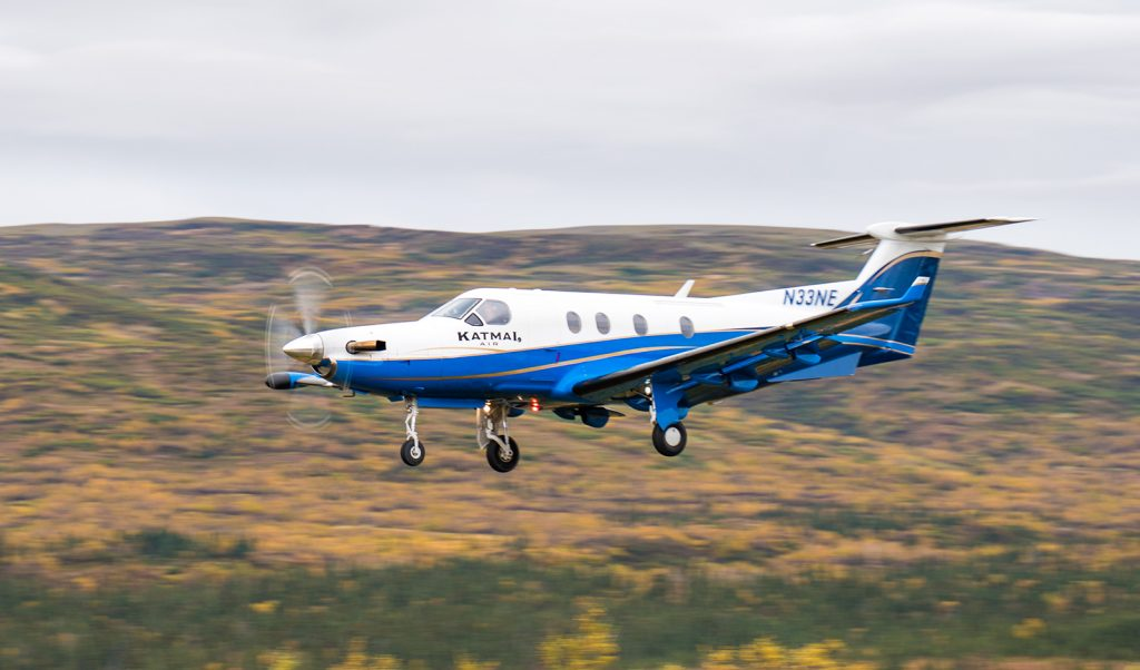 Katmai Air Pilatus PC-12 by Greg Houska