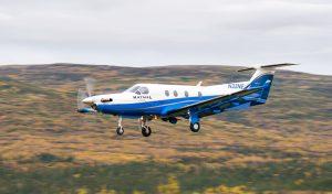 Katmai Air Pilatus PC-12 by Greg Houska